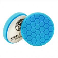 Круги для полировки авто Chemical Guys №5 жесткости синий пенополиуретановый полировальный круг Hex-Logic, 16,51 см