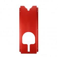 Держатель полировальных машинок, настенный, пластик, красный 60*25,5*9,5см