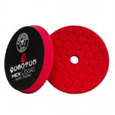 Полировальные круги для автомобиля Chemical Guys №7 степени жесткости красный пенополиуретановый полировальный круг Hex-Logic Quantum 13,97 см