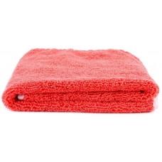 SGCB Edge Wax Towel - Микрофибра оверлоченная односторонняя 40*60см 380 гр/м2, красная