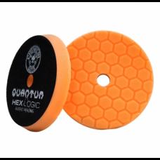 Круг для полировки авто Chemical Guys  №2 жесткости оранжевый пенополиуретановый полировальный круг Hex-Logic Quantum 16,51 см