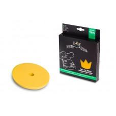Круги для полировки авто Royal Thin Soft Pad 150mm только для DA - средний круг, для полировочныхи доводочных работ, ЖЕЛТЫЙ