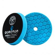 Круги для полировки авто Chemical Guys  №5 степени жесткости синий пенополиуретановый полировальный круг Hex-Logic Quantum 13,97 см
