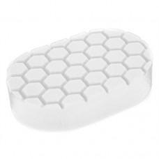 Chemical Guys №2 жесткости пенополиуретановый белый аппликатор для полировки вручную «Hex Logic Hand Applicator Pad»