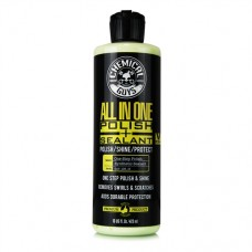 Полировальная паста для автомобиля Chemical Guys полировальная паста с содержанием силанта «All In One Polish + Shine + Sealant» , 473 мл