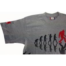 RUPES Футболка BigFoot серая, T-Shirt Gray