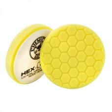 Полировальные круги для авто Chemical Guys №1 жесткости желтый пенополиуретановый полировальный круг Hex Logic, 13.97 см