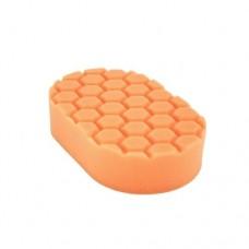 Chemical Guys №1 жесткости пенополиуретановый оранжевый аппликатор для полировки вручную «Hex Logic Hand Applicator Pad»