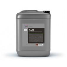 Автохимия для мойки SMART SAFE 01 Первичный бесконтактный состав с защитой хрома и алюминия  (6кг/5л)