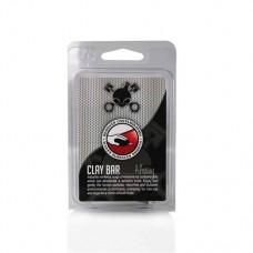 Автоскраб Chemical Guys глина для удаления сильных загрязнений с ЛКП, пластика или стекла «Clay Bar Medium – Black», 100 гр