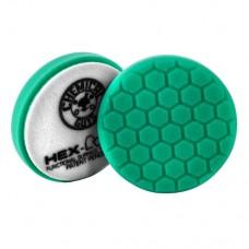 Chemical Guys №3 жесткости зеленый пенополиуретановый полировальный круг Hex-Logic 10.16 см