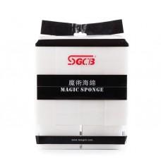 SGCB Magic Sponge Нано-губка для чистки поверхностей 90*70*40мм,10 шт