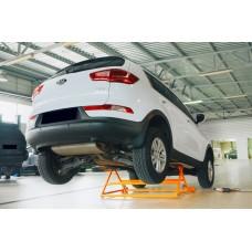 Купить  Механический подъемник для авто  AEROLIFT 3000 Мобильный механический подъёмник  с возможностью наклона транспортного средства
