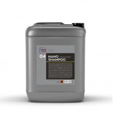 Ручной шампунь для авто SMART NANO SHAMPOO 04 Наношампунь для ручной мойки (5л)