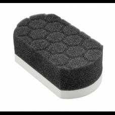Chemical Guys мягкий аппликатор «Easy Grip Applicator Pad Hex-Logic», белого цвета