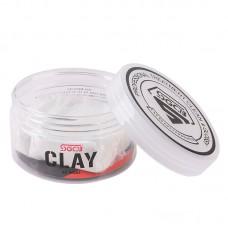 Глина для полировки авто SGCB Detailing Clay - полировочная глина средняя (белая),150 гр